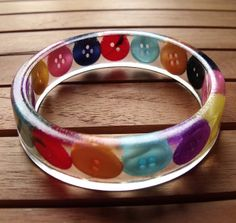 New Resin Bracelet by Realicoul and SewRealicoul, via Flickr