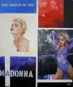 "Saatchi Online Artist Martin Georg Sonnleitner; Painting, ""Madonna"" #art Madonna Art, Selling Art Online, Saatchi Online, Erotic Art, Saatchi Art, Original Artwork, Legends, Stars, Drawings"