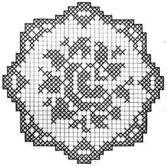 crochet em revista: Naperonzinhos