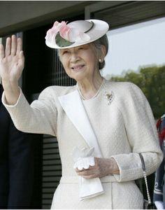 Empress Michiko, April 24, 2014 | The Royal Hats Blog