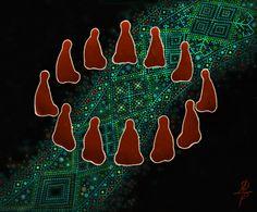 """#time_of_myths, #slavic_gods, #mythology, #slavic_myths  """"Life Line"""" http://vesemir.blogspot.ru/2014/11/life-line.html"""