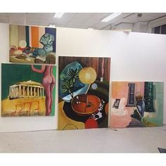 Missing my old studio in England #painting#paintings#art#artist#artwork#artoftheday#insta#instaart#contemporaryart#contemporary#surreal#surrealart#abstract#abstractart#modern#modernart#interiors#ibterior#design#retro#vintage#uk