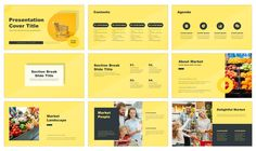 Market Report Free Google Slides Theme and PowerPoint Template