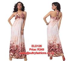 ELD126 - PRICE: R349  AVAILABLE SIZES: S/M (Size 8-10 / 32-34) To order, email: sales@sultryfashions.co.za Dresses For Sale, Prom Dresses, Formal Dresses, Size 12, Fashion, Dresses For Formal, Moda, La Mode, Fasion