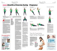 Benefits of Exercise During Pregnancy|Epoch Times #Health #newspaper #editorialdesign
