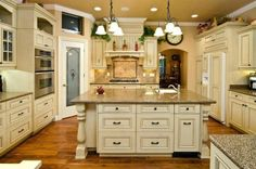 93 Best French Country Kitchen Designs Country French Kitchen Ideas, Christmas Kitchen Decor with French Country Elegance My French, Transformation Of A French Country Kitchen, Ersatz French Country Kitchen Remodeling Ideas Antique Style White. Country White Kitchen, Country Kitchen Designs, French Country Kitchens, White Kitchens, Country Bathrooms, Country Farmhouse, Country Decor, Farmhouse Decor, Classic Kitchen Cabinets