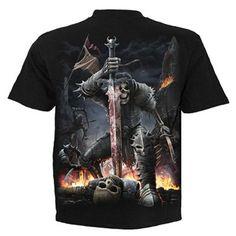 "T-shirt Gothique Spiral ""Spirit of the Sword"""