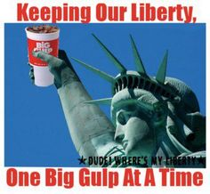 The Palin Liberty Pose. 7 Eleven, Constitutional Rights, Wall Signs, Wake Up, Liberty, America, Poses, Bar, Movie Posters