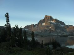 Banner Peak California  #landscape #banner #peak #california #photography