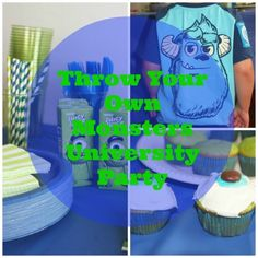 A Scary Good Time: Our Monsters University Party