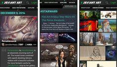 DeviantArt disponibiliza aplicação para iOS e Android