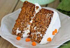 Easy Carrot Cake Recipe With Cream Cheese Frosting Easy Carrot Cake Cupcakes Recipe, Carrot Sheet Cake Recipe, Carrot Cake Icing, Homemade Carrot Cake, Best Carrot Cake, Sheet Cake Recipes, Cake Recipes From Scratch, Homemade Cakes, Cupcake Cakes