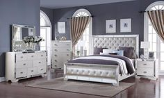 30 Exclusive Picture of Bedroom Sets Furniture . Bedroom Sets Furniture Buy All Gloria Bedroom Set Complete Now Brooklyn Furniture Store Master Bedroom Set, Wood Bedroom Sets, Mirrored Bedroom Furniture, Queen Bedroom, Bedroom Boys, King Bedroom Sets, Mirror Bedroom, Trendy Bedroom, Bedroom Lighting