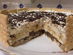 Torta di biscotti con Nutella, panna e mascarpone   Ricetta