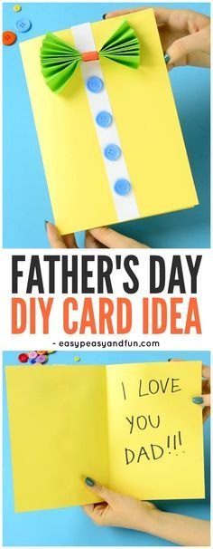 Bow-Tie Shirt Father's Day Card Idea! A sweet but simple card idea for prescho… Bow-Tie Shirt Father's Day Card Idea! A sweet but simple card idea for preschoolers and kindergartners to make this Father's Day! Fathers Day Art, Fathers Day Crafts, Happy Fathers Day, Diy Father's Day Gifts Easy, Father's Day Diy, Cadeau Parents, Father's Day Activities, Bow Tie Shirt, Daddy Day