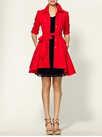OMG  I have been looking for a red coat or jacket!  I love this!