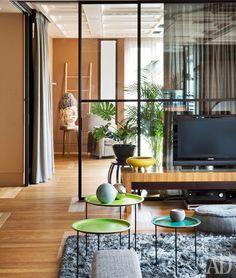 Квартира в Москве, архитекторы Татьяна Смирнова и Нина Целева. Нажмите на фото, чтобы посмотреть все интерьеры квартиры.
