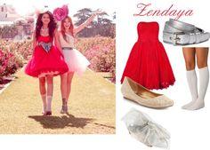 """""""Zendaya (Fashion Is My Kryptonite)"""" by emma-sullivan on Polyvore"""