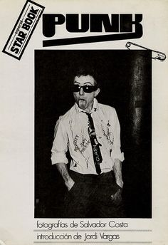 Salvador Costa Punk 1977