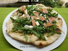 pizza albumi salmone rucola