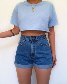 Cute Summer Outfits, Cute Casual Outfits, Retro Outfits, Simple Outfits, Short Outfits, Stylish Outfits, Amazing Outfits, Grunge Outfits, Cute Summer Clothes