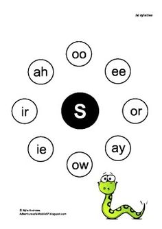 Freebie: A syllable worksheet for the 's' sound. Use for sound in initial, medial and final positions.