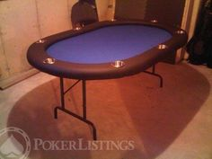 A step-by-step guide to building your own home poker table for under $300. Full written instructions with images and CAD blueprints. Poker table build 101.