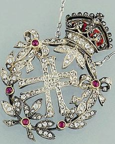 DIAMOND AND RUBY NECKLACE OF QUEEN ALEXANDRA