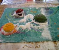 Gallery of interesting felting techniques