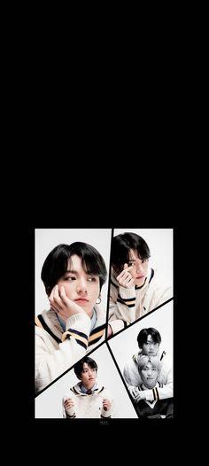 #BTS#방탄소년단#MAP_OF_THE_SOUL_7Concet Photo version 4 Seokjin, Hoseok, Namjoon, Bts Laptop Wallpaper, Watch Korean Drama, Black Wallpaper, Bts Photo, Bts Jungkook, Cool Bands