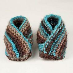 Toddler Slippers Knitting Pattern