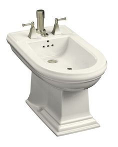 Kohler bidet   :-)  We make fun of them in the U.S. but I think it would be great to have one!
