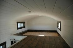 The Carpathian is a lovely tiny house built by Tiny Idahomes. This model includes three slide outs — two in the living room over the gooseneck and one in the rear bedroom. It has a front living room/bedroom with a Murphy bed in one of the slide outs, a full size bathroom, and bedroom in … Carpathian by Tiny IdahomesRead More »