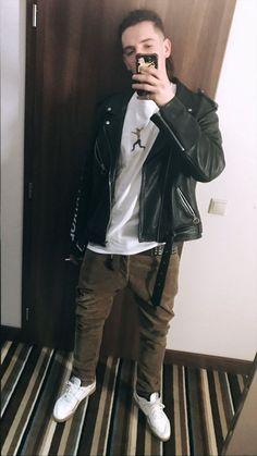 Rap, Leather Jacket, My Love, Music, Jackets, Outfits, Fashion, Studded Leather Jacket, Down Jackets