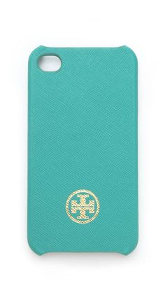 Tory Burch Robinson Saffiano Hardshell iPhone Case....I wish they had this for the iphone 5!