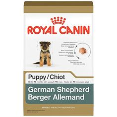 ROYAL CANIN BREED HEALTH NUTRITION German Shepherd Puppy dry dog food 30Pound -- Continue to the product at the image link.