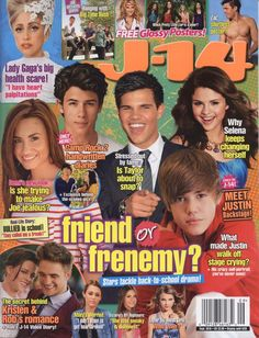In like 4th and 5th grade j has this tween magazine phase, I read j-14 and some others that I really don't remember any more. I could probably remember them if I saw them. But I would get the new issues every single month of my life and read them front to back. I started bringing them to school and other girls started reading them and buying them, I started a tween magazine revolution.