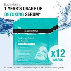 Neutrogena Hydro Boost Hydrogel Recovery Mask, 30 ml x 12 Uses Neutrogena, Recovery, Goodies, Basket, Youth, Sweet Like Candy, Gummi Candy, Baskets, Wilderness Survival
