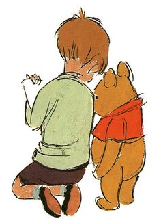 """ Character Designs from The Many Adventures of Winnie the Pooh """