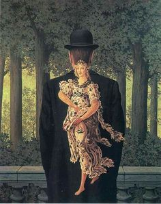 MAGRITTE  - The prepared bouquet, 1957 Collezione priv.