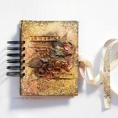 Mini- journal by finnabair, via Flickr