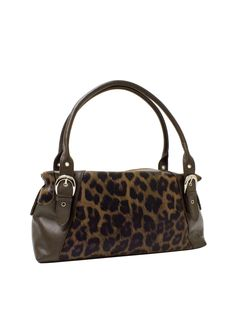 SOPRANO Leopard Prints Leather Shoulder Bag from Soprano Handbags