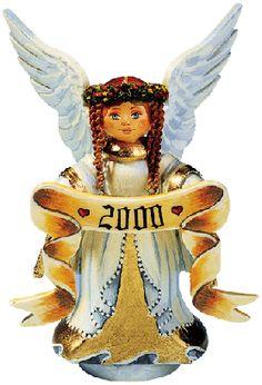 Sammlerfiguren Jahresengel 2000
