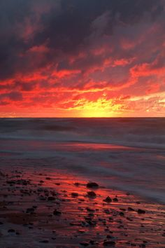 ✯ Inverness Beach Sunset - Cape Breton Island, Nova Scotia