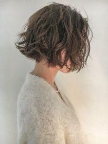 シマ キチジョウジ プラスワン(SHIMA KICHIJOJI PLUS1) [SHIMA/安藤圭哉] くせ毛風パーマ×切りっぱなしボブ