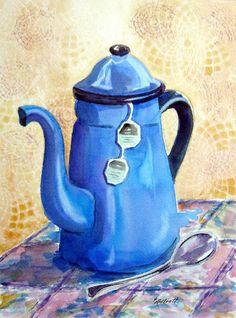 Afternoon Tea by Marsha Elliott