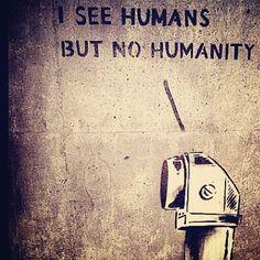 Well, some. I do see some :) (Banksy) Street Art Banksy, Banksy Art, Bansky, Banksy Quotes, Designer Dog Collars, Art Corner, Spray Painting, Urban Art, Art Forms