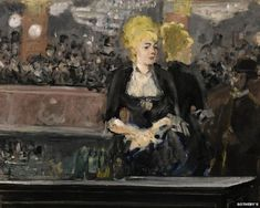 (8th June 2015) LE BAR AUX FOLIES-BERGERE: An 1881 oil painting considered one of the defining images of French impressionism is to be sold at auction later this month. Edouard Manet's Le Bar aux Folies-Bergere, which depicts a barmaid at the famous Parisian cabaret, recently featured at the National gallery's Inventing Impressionism exhibition.