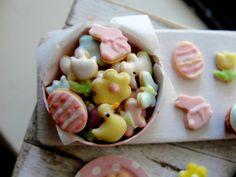 Springtime cookies 1:12 scale by Kim Saulter