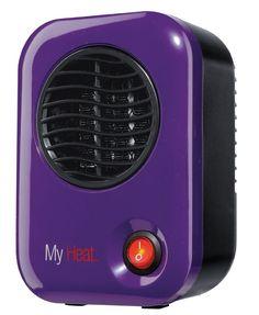 Heater Personal Ceramic Lasko 106 My Heat, Purple #Lasko